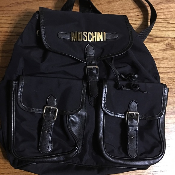 3cf48c2f82 vintage Moschino backpack. M_5c0833e42beb79f020fc332b. Other Bags ...